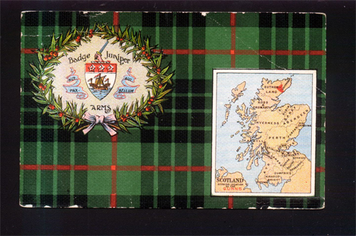 Postcard from Scotland 1930